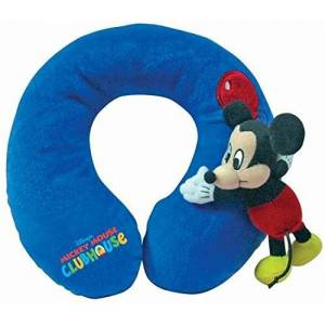 Disney Baby Travel Pillow Mickey (Blue)