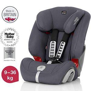 Britax Römer car seat 9-36 kg, EVOLVA 123 PLUS  group 1/2/3, Storm Grey