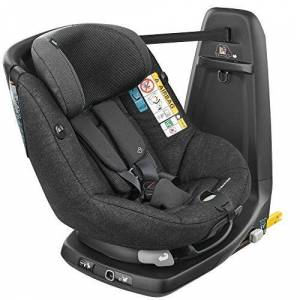 Maxi-Cosi Axissfix Toddler Car Seat, Swivel Car Seat, 4 Months - 4 Years, 61-105 cm, Nomad Black