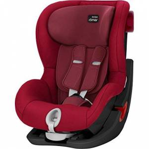 Britax Römer KING II BLACK SERIES Group 1 (9-18kg) Car Seat - Flame Red