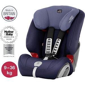 Britax Römer car seat 9-36 kg, EVOLVA 123 PLUS  group 1/2/3, Moonlight Blue