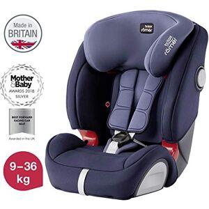 Britax Römer car seat 9-36 kg, EVOLVA 123 SL SICT Isofix group 1/2/3, Moonlight Blue