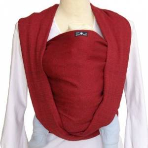 Didymos Indio Baby Wrap Sling (Size 8, Rubin Red)