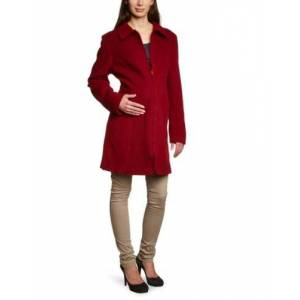 Mamaponcho TM102Xlrot Wearing Coat for All Baby Slings, XL, red
