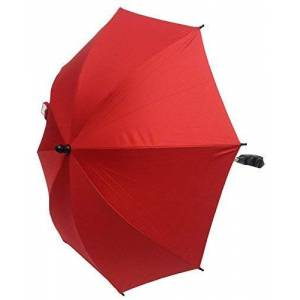 For-your-Little-One Baby Parasol Compatible with Mamas and Papas Stroller Buggy Pram Red