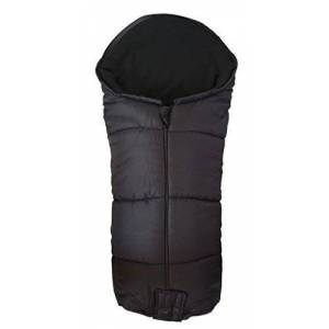 For-your-Little-One Deluxe Footmuff/Cosy Toes Compatible with Phil & Teds Vibe Pushchair Black