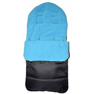 For-your-Little-One Universal Baby Stroller Cosy Toes Liner Buggy Padded Luxury Footmuff (Ocean Blue)