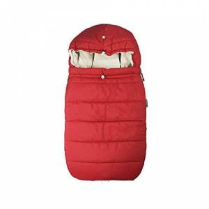 Poplico Universal Weatherproof FOOTMUFF Cosy Toes for Pushchairs Prams Buggy Strollers, Carrycots and Baby Car Seat - Red