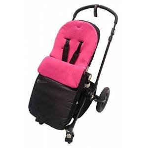 For-your-Little-One Footmuff/Cosy Toes Compatible with Mountain Buggy Dark Pink