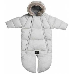 Elodie Details Car Seat Overall, 0 to 6 Months, Marble Grey