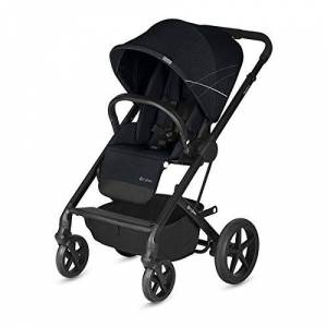 CYBEX Gold Balios S Pushchair, From Birth to 17 kg (approx. 4 years), Lavastone Black