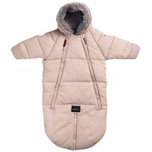 Elodie Details Car Seat Overall, 6 to 12 Months, Powder Pink