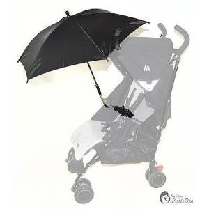 For-your-Little-One Baby Parasol Compatible with Jogger City Mini Elite Vue Black