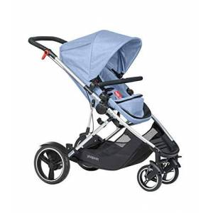 phil&teds Voyager Buggy Pushchair, Blue