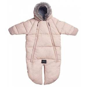 Elodie Details Car Seat Overall, 0 to 6 Months, Powder Pink