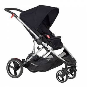 phil&teds Voyager Buggy Pushchair, Black