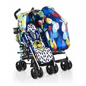 Cosatto To and Fro Duo Pitter Patter Twin Stroller