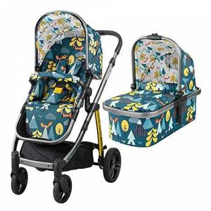 Cosatto Wow Pram and Pushchair, from Birth Carrycot and Pushchair Suitable upto 25 kg, Fox Tale