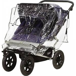 Playshoes Baby Travel Universal Pushchair Buggy Tandem Duo Twin Rain Cover