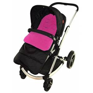 For-your-Little-One Footmuff/Cosy Toes Compatible with Phil & Teds Smart Buggy Pushchair Pink Rose
