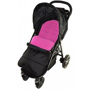 For-your-Little-One Footmuff/Cosy Toes Compatible with Jane Epic Pushchair Pink Rose
