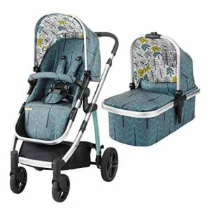 Cosatto Wow Pram and Pushchair, from Birth Carrycot and Pushchair Suitable upto 25 kg, Fjord