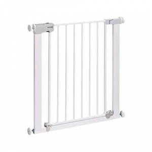 Safety 1st Securtech Auto Close Metal Gate, White
