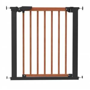 BabyDan Avantgarde True Pressure Fit Safety Gate (Cherry/Black)