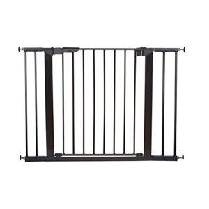 Baby Dan BabyDan Premier Pressure-Mounted Door/Stair Gate/Baby Guard, Black 73.5-106.3cm