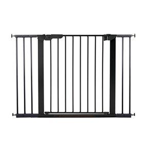 Baby Dan BabyDan Premier Pressure-Mounted Door/Stair Gate/Baby Guard, Black 73.5-112,8cm
