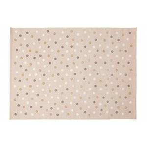 Lorena Canals Dots Acrylic Rug (Nude/Multicolour, 2X-Large)
