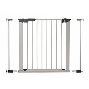 BabyDan Premier True pressure fit gate with indicator- Silver