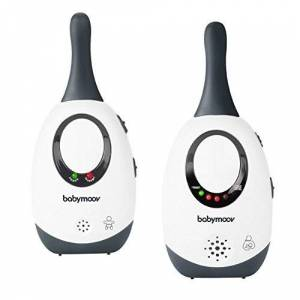 Babymoov Simply Care Audio Baby Monitor, White/Grey (UK Plug)