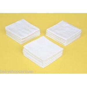 Sunnybaby 10500Molton Cloth 40x 40cm. Colour: White