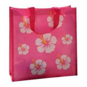 Freds Swim Academy Beach Bag Small Pink/White