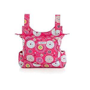 pirulos 47230509-Talega, Design Folk, 35x 36x 10cm, Colour Strawberry