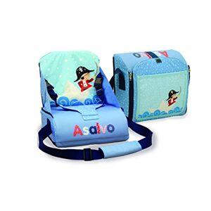 Asalvo 14023 Go Anywhere Pirate Design Booster Seat, Multi-Colour