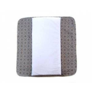 Ah Goo Baby The Plush Pad Portable Changing Mat with Memory Foam - Best Travel or Lounge Mat for Baby - Morocco