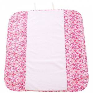 Ah Goo Baby The Plush Pad Portable Changing Mat with Memory Foam - Best Travel or Lounge Mat for Baby - Charleston