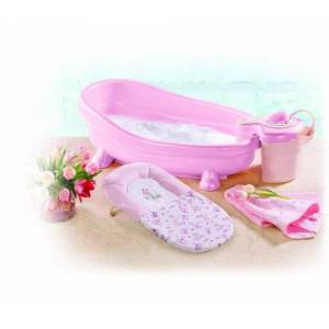 Summer Infant Soothing Bath Spa and Shower (Pink)