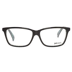 Just Cavalli Women's Optical Frame Jc0616 005 53, Black (Schwarz), 53.0
