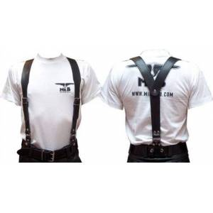 Mister B Leather Braces, Small