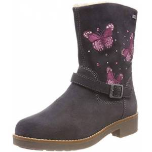 Lurchi Girls' Fiby-tex Ankle Boots, (Charcoal 25), 8.5 UK 8