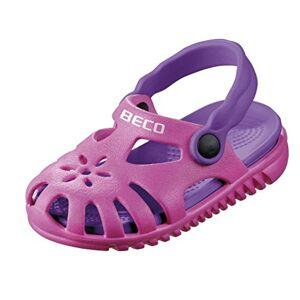 BECO Beermann GmbH & Co. KG Unisex Kids' Kindersandalen-90026 Closed Toe Sandals, Pink (Pink 4), 8.5 UK