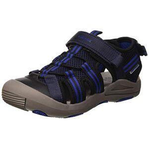 Geox Boys' JR Kyle A Closed Toe Sandals, Blue (Navy/Royal C4226), 4 UK