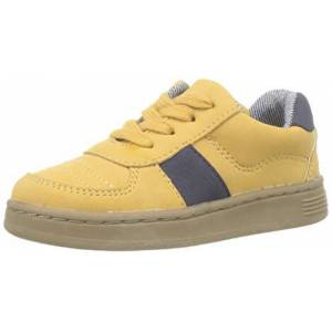 ZIPPY Baby Boys' Zapatillas De Cordones para Bebé Niño Slippers, Yellow (Golden Glow 15/1050tc 2318), 3 UK 3UK Child
