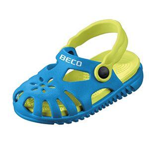 BECO Beermann GmbH & Co. KG Unisex Kids' Kindersandalen-90026 Closed Toe Sandals, Blue (Blue 6), 8.5 UK