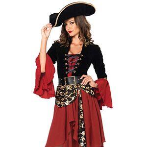 Leg Avenue Cruel Seas Captain Women's Costumes, Medium