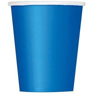 Unique Party 31476 - 9oz Royal Blue Paper Cups, Pack of 14