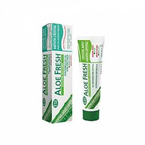 Aloe Fresh - Crystal Mint for a Fresh Brearth   Aloe Vera Gel Toothpaste with Crystals